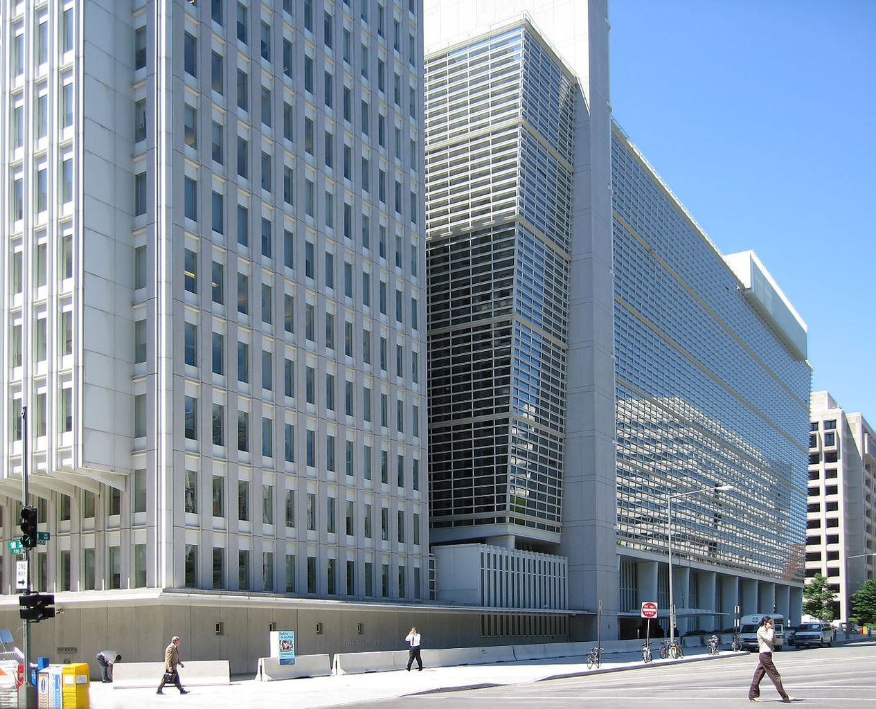 world bank venue